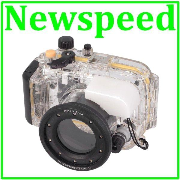 40m RX100 II Waterproof Underwater Housing Casing for Sony RX100 MK II