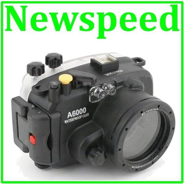 40m Waterproof Underwater Housing Casing for Sony A6000 Camera