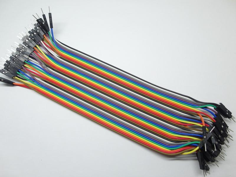 40p Dupont Wire Color Jumper Cable Male to Male 20cm Arduino