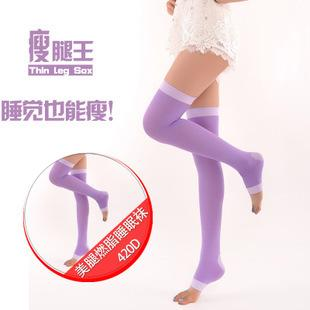 420 Burn Fat Pressing Sleeping Beauty Leg Slim Socks