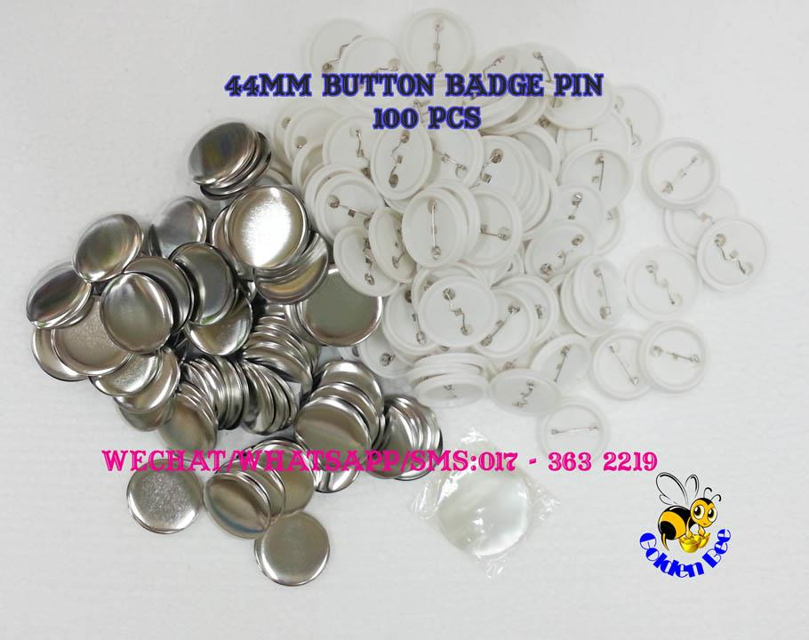 44mm button badge pins 100pcs