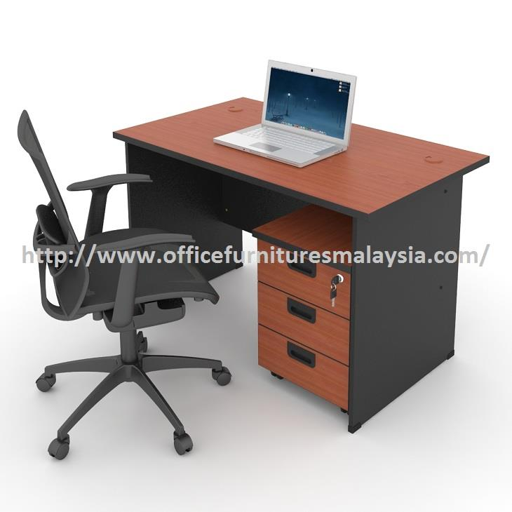 4ft Office Budget Table with Mobile Pedestal OFAT1270 petalig jaya KL