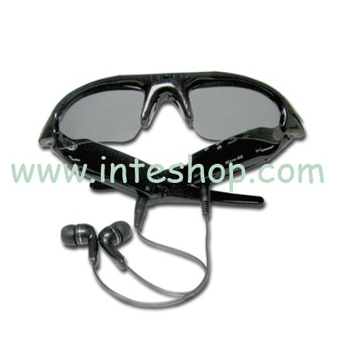 4GB Polarised Sunglasses Spy Camera DC/DV MP3 Player