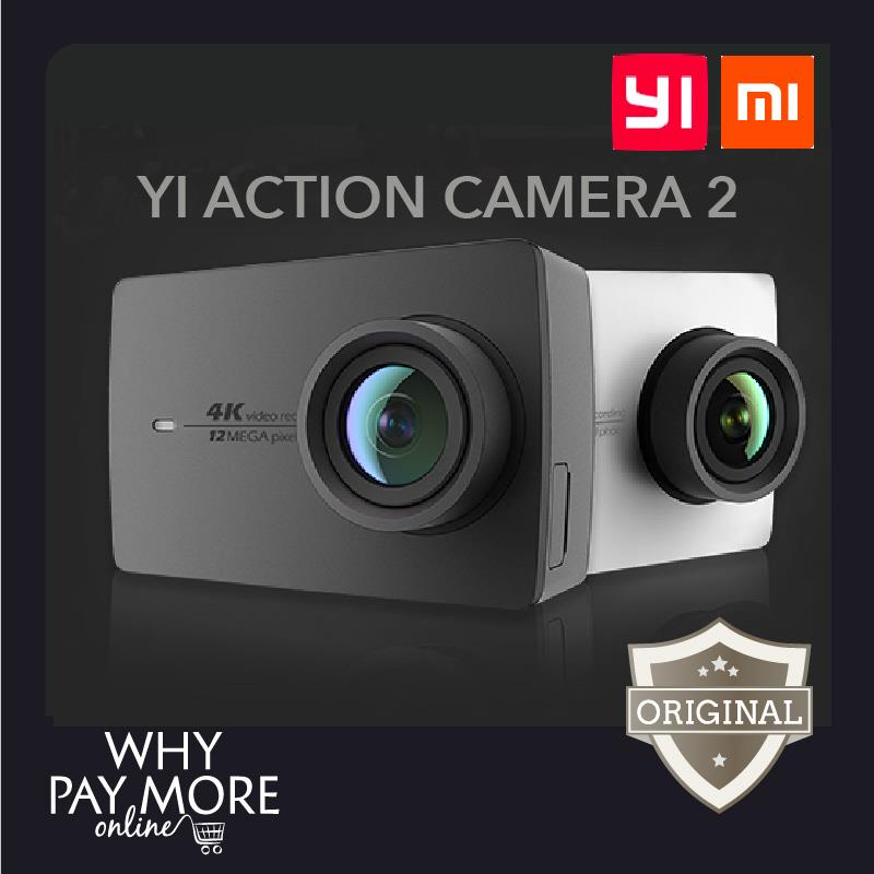 New 4K Xiaoyi Yi Sport Action Camera 2 WiFi Xiaomi Mi Sports Cam