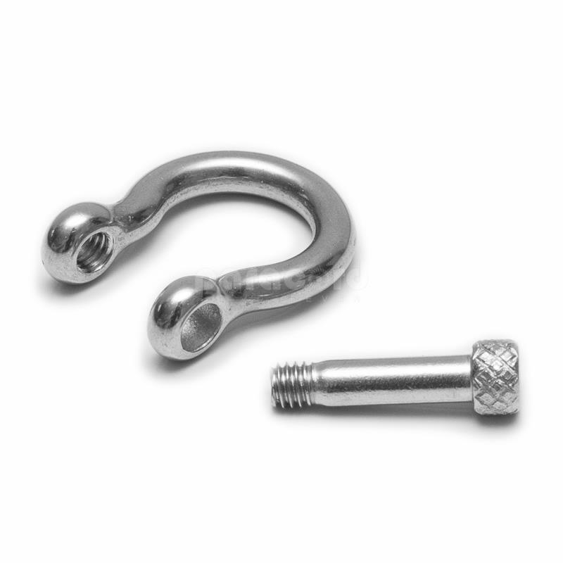 4mm stainless steel paracord shackle buckle for bracelet making