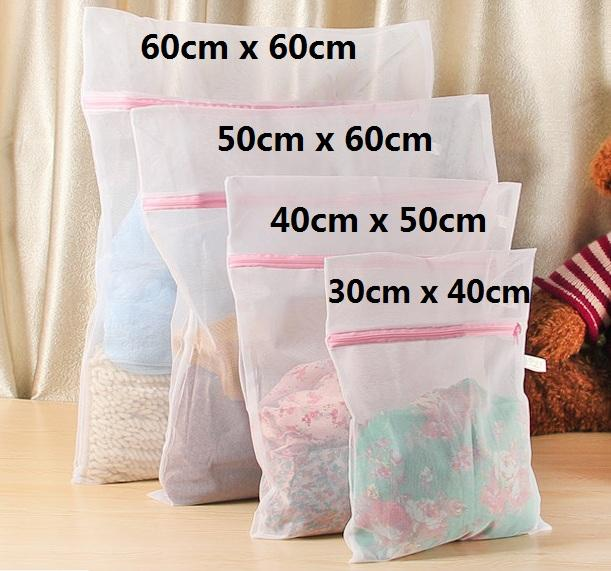 4Pieces Set High Quality Clothes Washing Laundry Bag