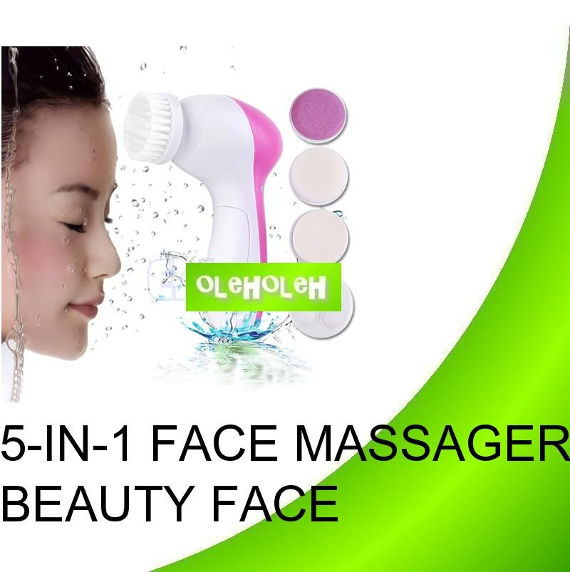 5 in 1 Beauty Care Massager Facial Cleansing Brush AS SEEN ON TV