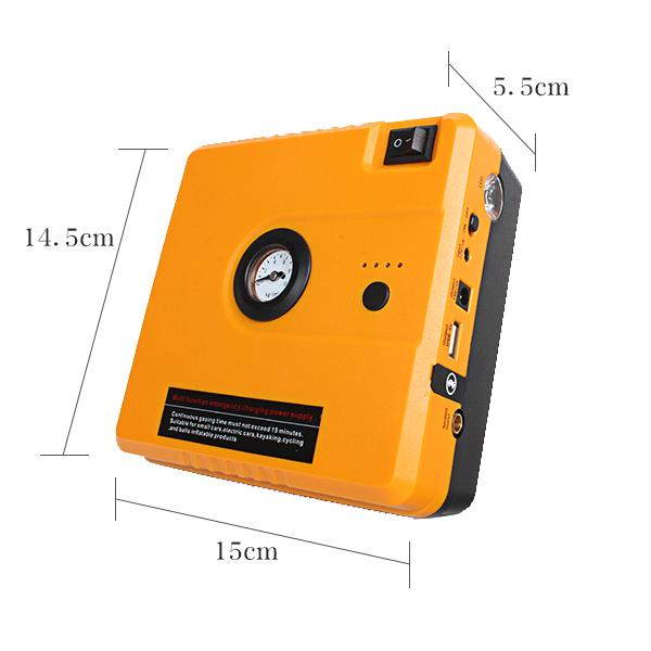 5 in 1 Car Jump Starter with Tire Inflator Function HIGH POWER TM16