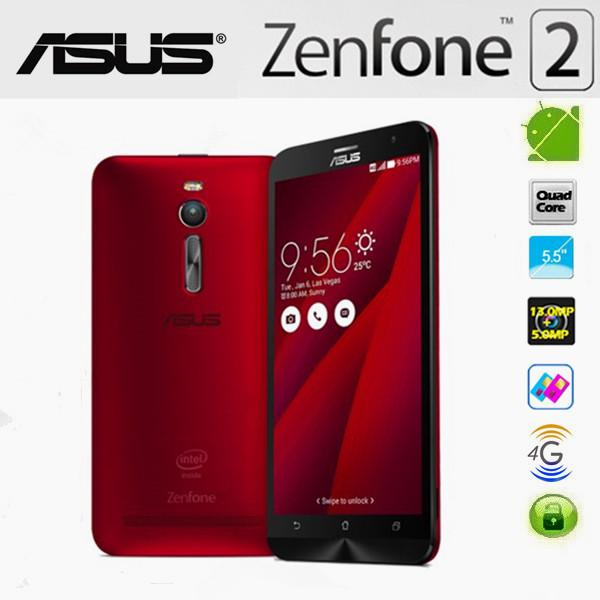 "5.5"" ASUS Zenfone2 ZE551ML 4G LTE Phone 2GB+16GB 13MP+5MP Android Red"