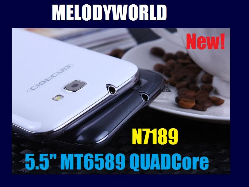 5.5' QuadCore Note 2  N7189  Android 4.2.1 MT6589 1GB 4G