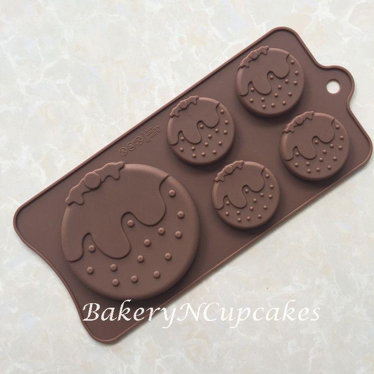 5 Cavity Cute Strawberry Silicone Chocolate Mould