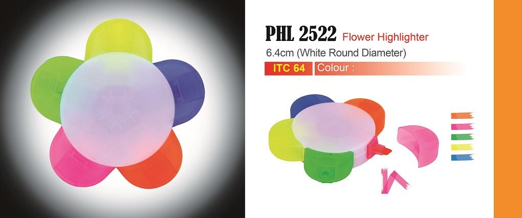 5 Color Flower Highlighter Pen PHL2522