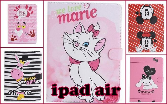 5 Cute cartoons Tablet Case Ipad 5 / AIR