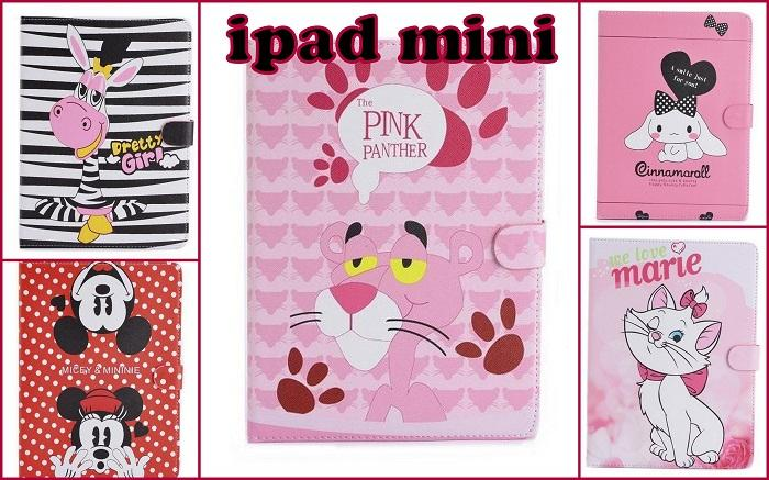 5 Cute cartoons Tablet Case Ipad Mini