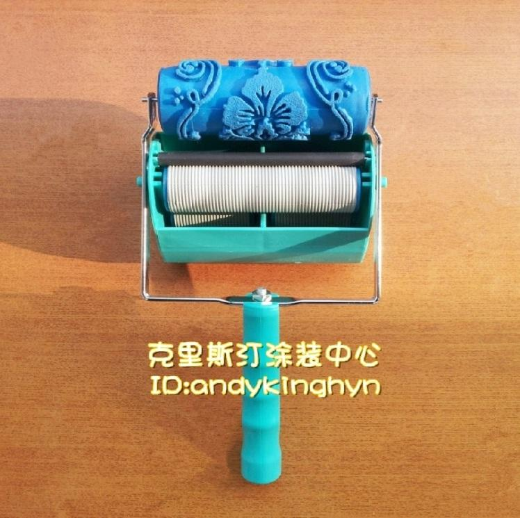5-inch color decoration machine / liquid wallpaper tools With rollers