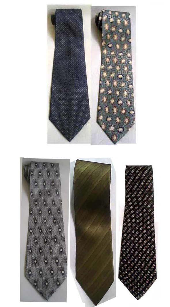 5 Korean Silk Ties - Good Quality (new) Made in S. Korea - OFFER Buy o