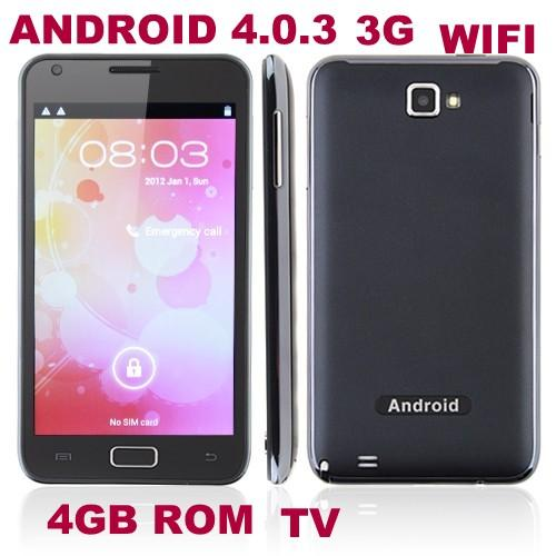 5' NOTE N8000 ANDROID 4.0 DUAL CORE 3G BUILD IN WIFI GPS TV DUAL SIM