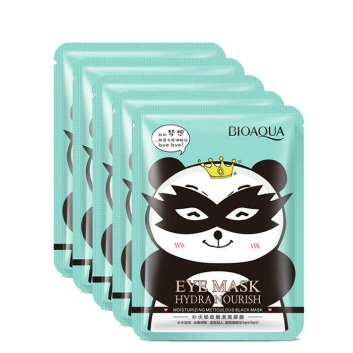 [5 pcs] BIOAQUA Hydrating Black Eye Mask Fade Dark Circle