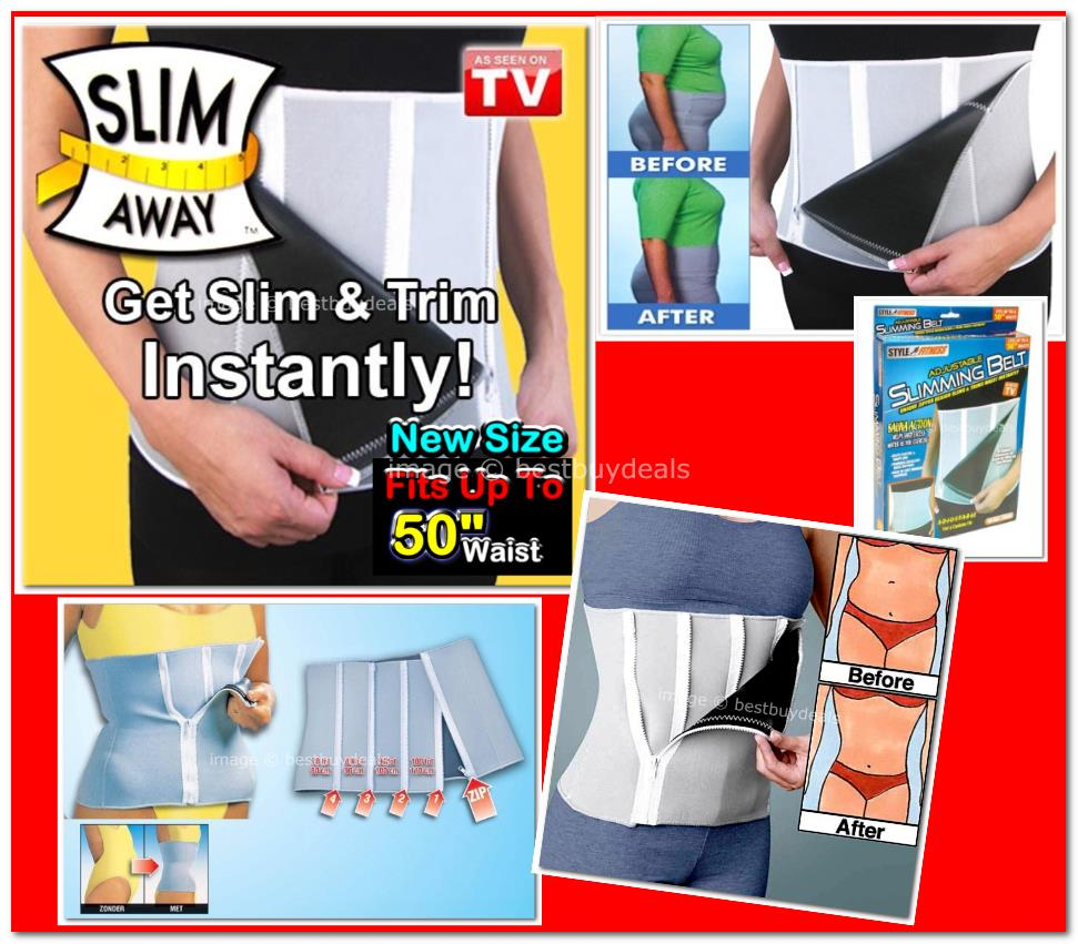 Step Zipper Adjustable Slimming Belt Slim Weight Loss Belt Sauna HQ