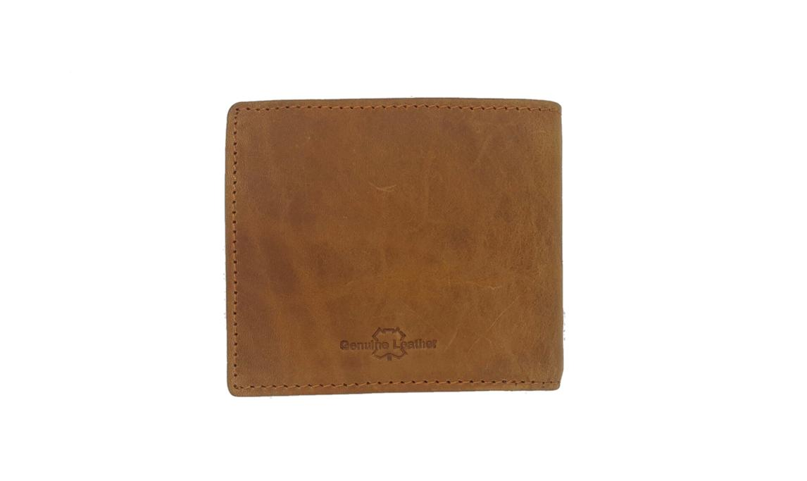 [50% Off] Bull Ryders Man Wallet BWBU-6211AC (Brown)