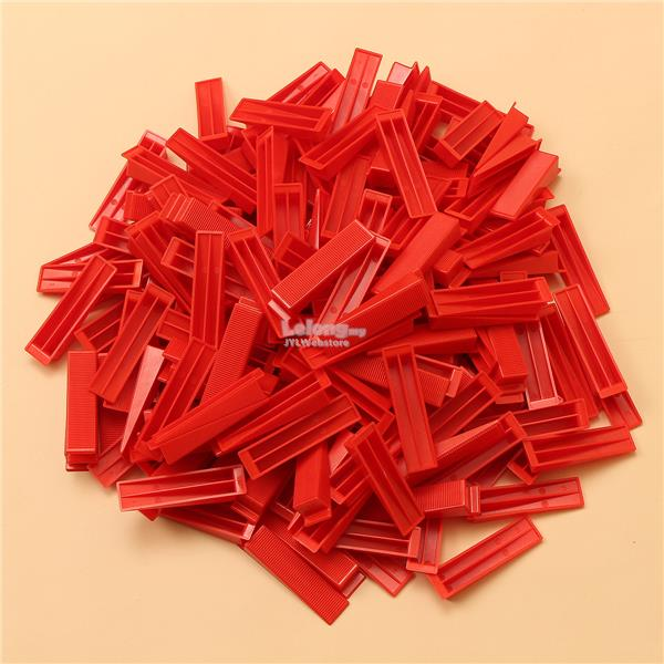 500 Clips + 300 Wedges Tile Leveler Spacers Lippage Tile Leveling Syst