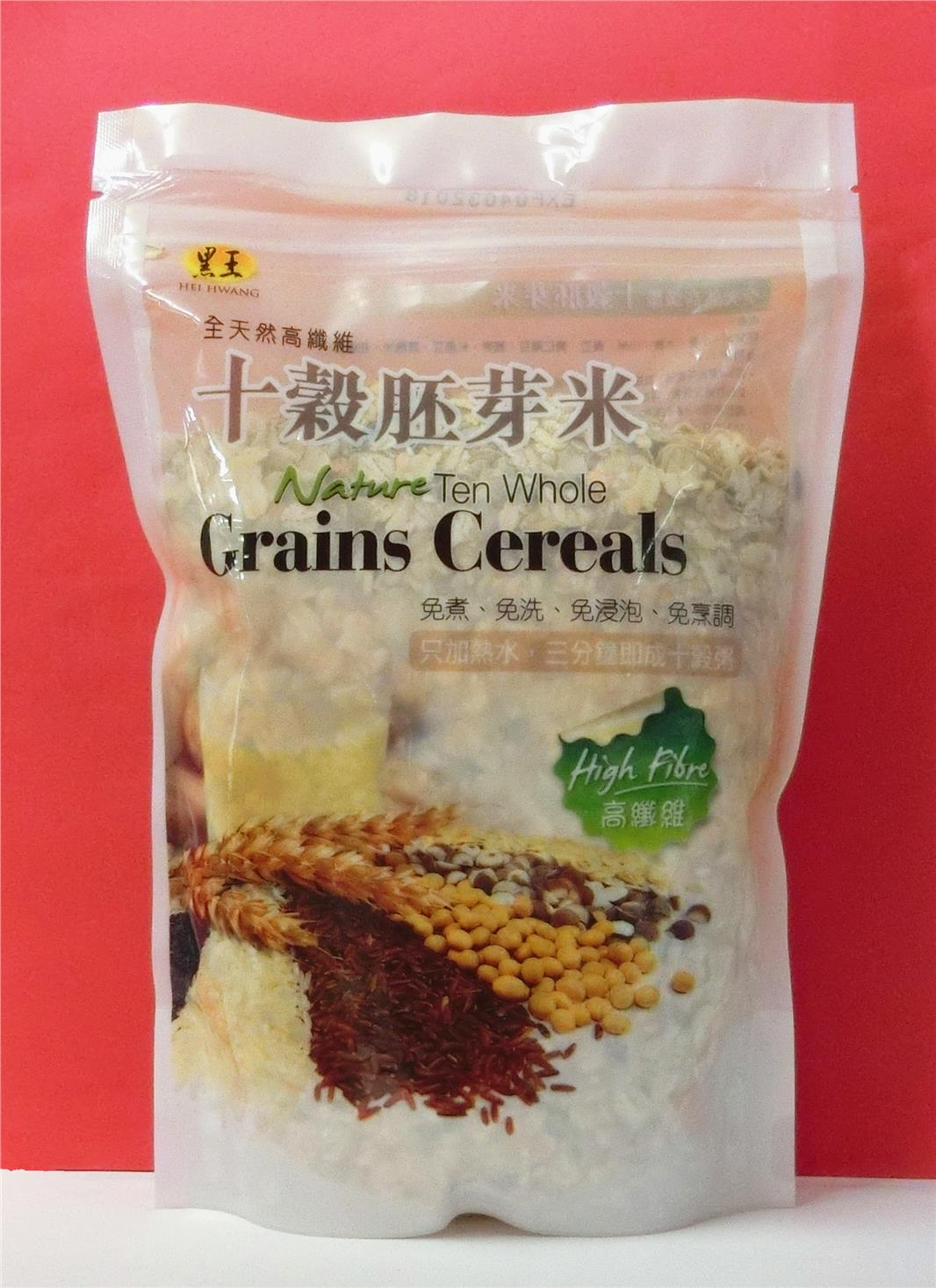 500g Hei Hwang Natural Ten Whole Grains Cereals, Limited stock only!