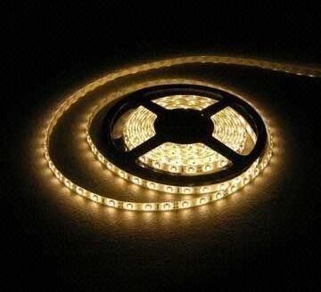 5050 Non Water Proof 12V LED Strip Lights 60LED Warm White