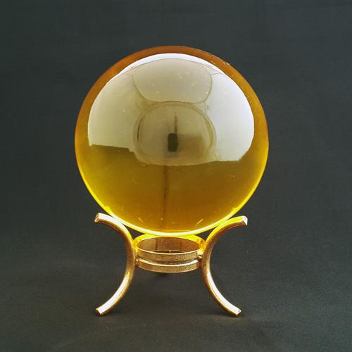 50mm Citrine Crystal Sphere (Period 8 Enhancer)