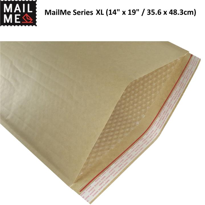 "50x Bubble Wrap Mailer XL (14"" x 19"" / 35.6 x 48.3cm) – Air Envelope"