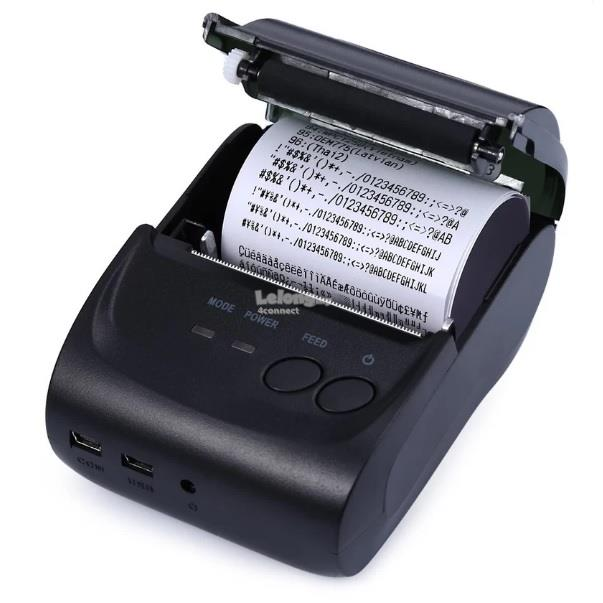58mm Bluetooth V4.0 Mini Thermal Printer for Android & IOS UK Plug