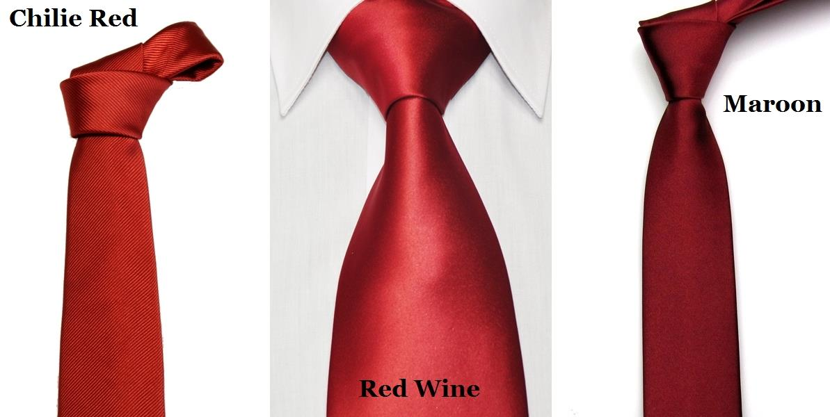 5cm Classic Slim Neck Tie For Young Guys Man Woman Men - Red Wine