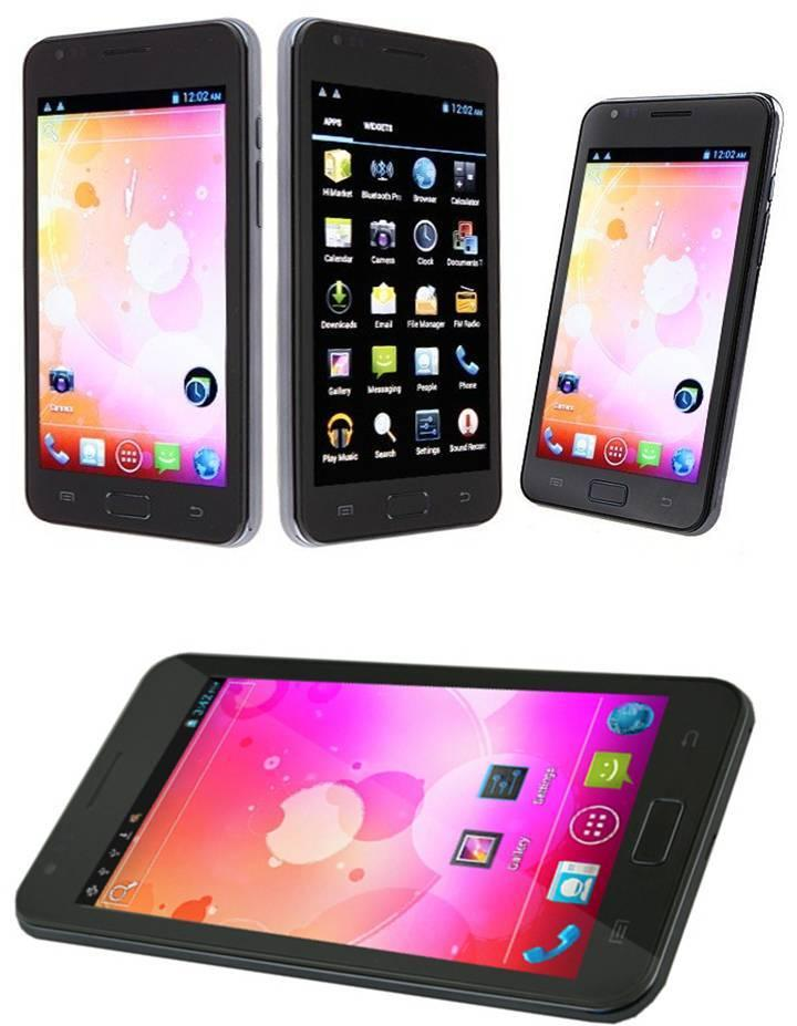 5IN TABLET PHONE. DUAL SIM ANDROID 4.0 OS, DUAL CAM SAME AS GALAXY NOT..