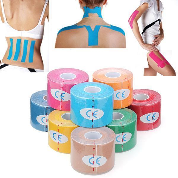 5m x 5cm Elastic Sports Muscles Care Tape