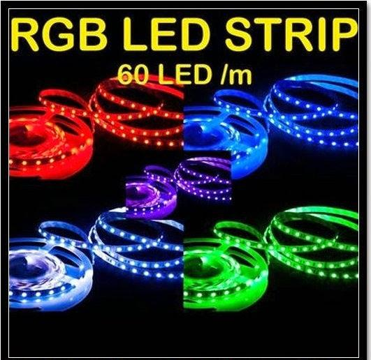5METER RGB LED Light Strip  5050  300LED WATERPROOF