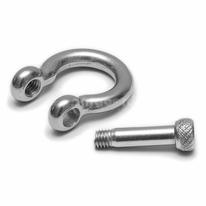 5mm stainless steel paracord shackle buckle for bracelet making