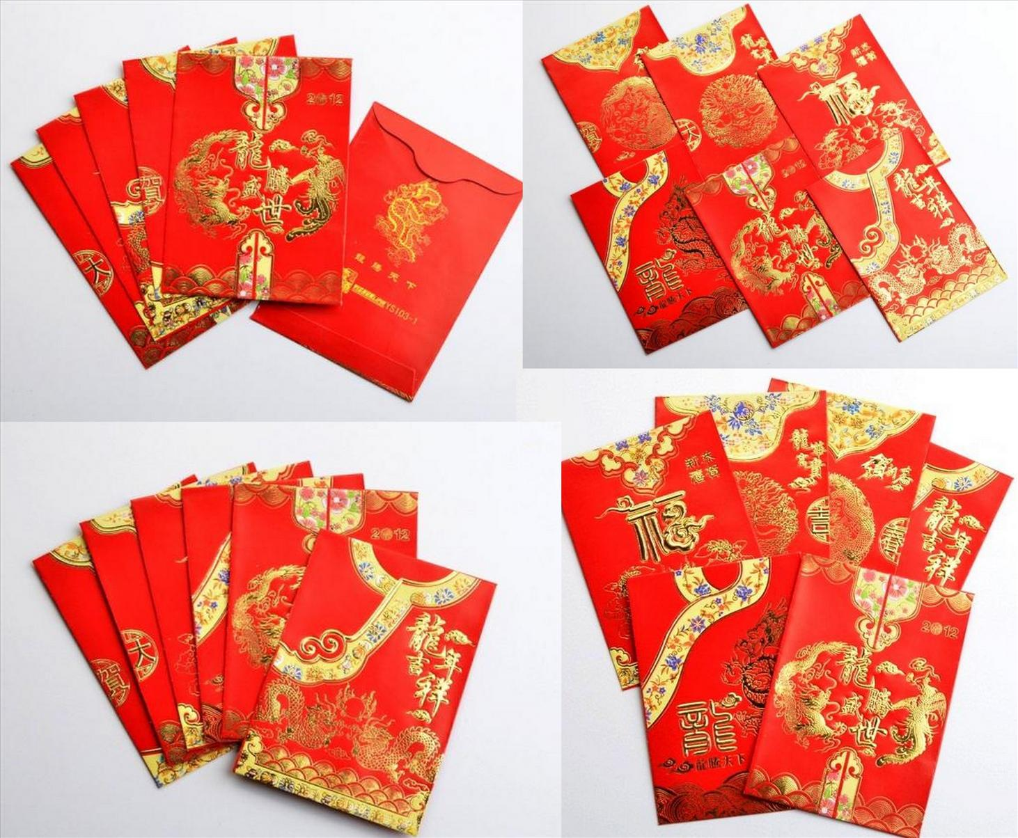 New year money envelope 28 images 5pack ang pao money for Ang pao origami