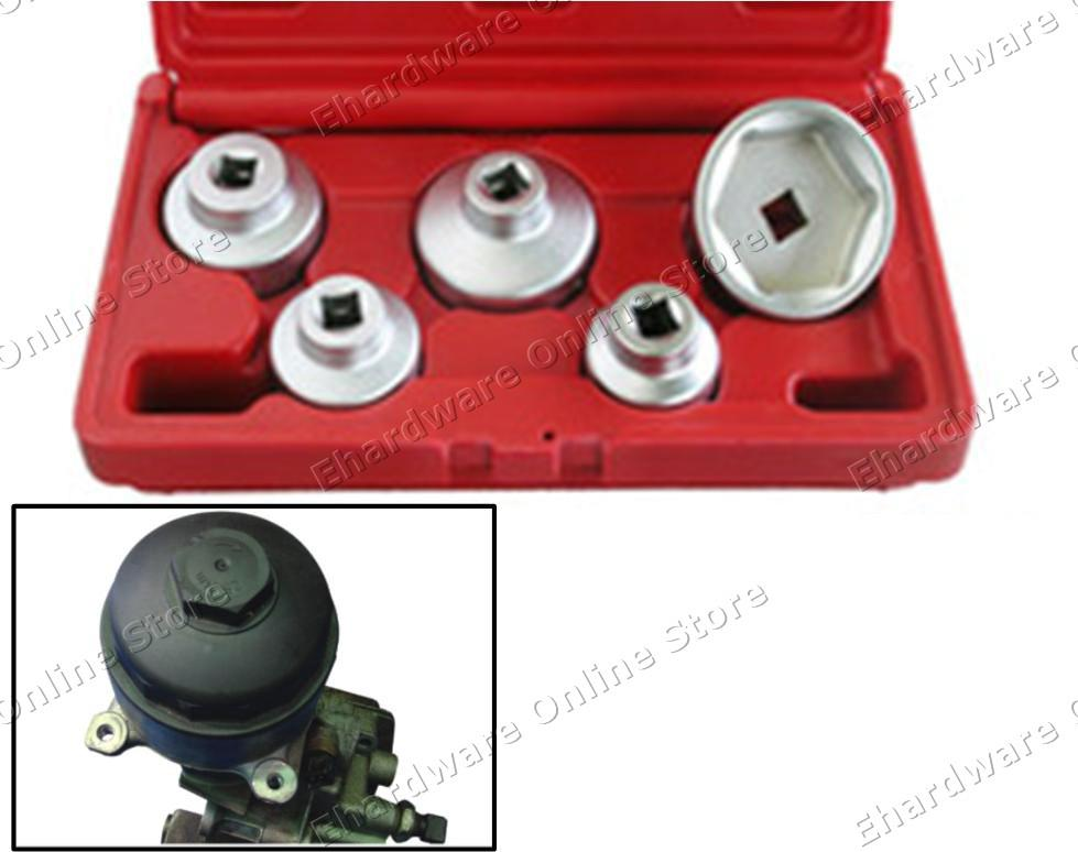 5PCS OIL FILTER CAP WRENCH SET (4665)