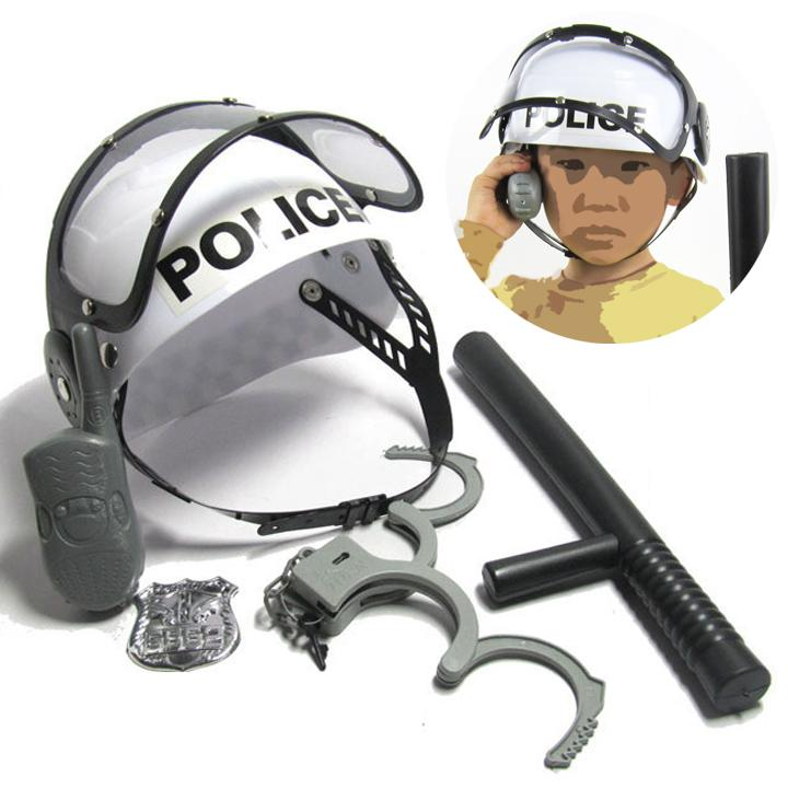 5pcs - Policeman Cosplay Toy Set
