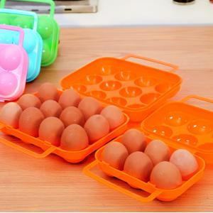 6 Grid Outdoor Picnic Portable Egg Case