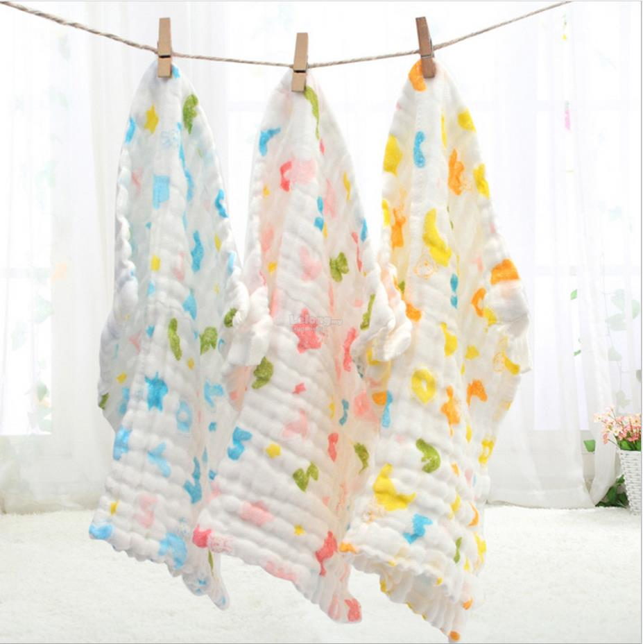 6 Layers Super Soft and Absorb Baby Handkerchief