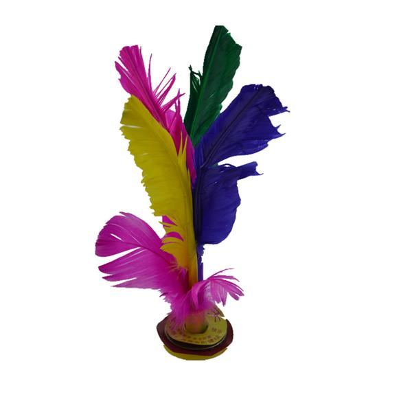 6 PCS COLORFUL SHUTTLECOCK