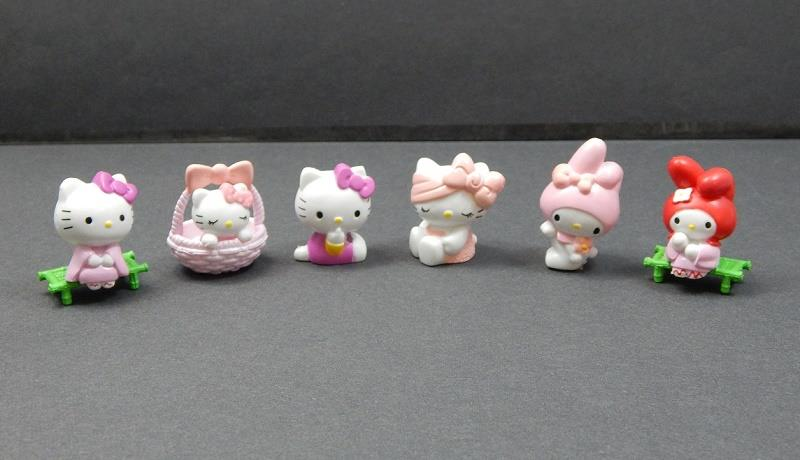 6 Pcs Small Hello Kitty Collection (For Age 3 Years +)