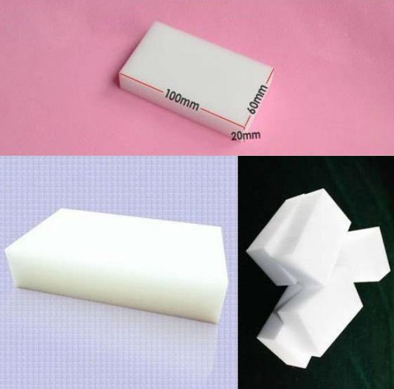 6 pieces Melamine Magic Sponge For Cleaning Kitchen Eraser Cleaner