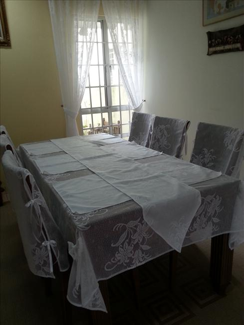 Malaysia online shopping auction lelong for 10 seater table cloth