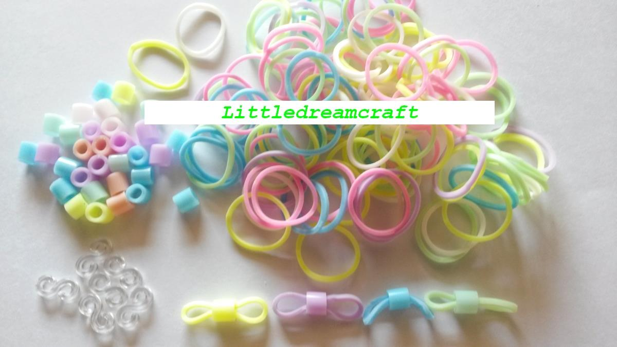 Jual Rubber Band Loom Rubber Band Refill