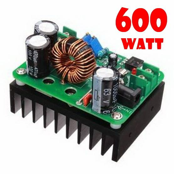 600W / 10A DC  Boost Converter 10~60V to DC 12~80V ,SPINDLE POWER