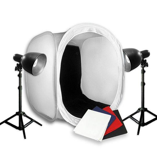 60cm Professional 2 Light Tent Kit for small product shoot