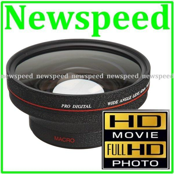 62mm HD PRO 0.45x Wide Angle + Macro Converter Lens (82mm UV)