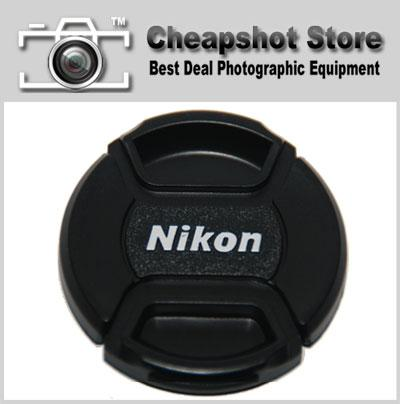 62mm Snap-On Lens Cap / Front Cap For Nikon