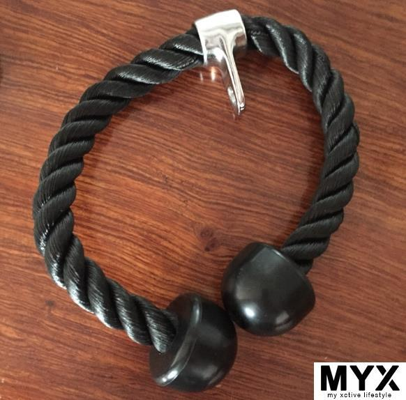 Double Pull Rope Tricep Gym Equipment Accessories